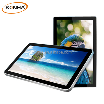 Ultra-thin Frame 46 inch LCD Advertising Player TV with Samsung Window Touch Screen