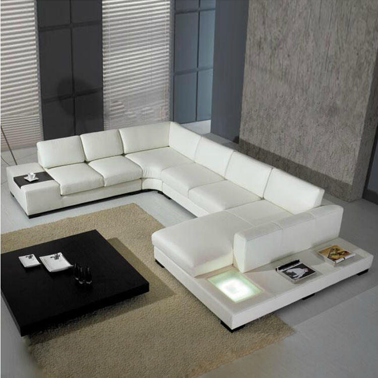 2015 new style modern sofa hot sales home used real leather sofa living room furniture wholesale. Black Bedroom Furniture Sets. Home Design Ideas