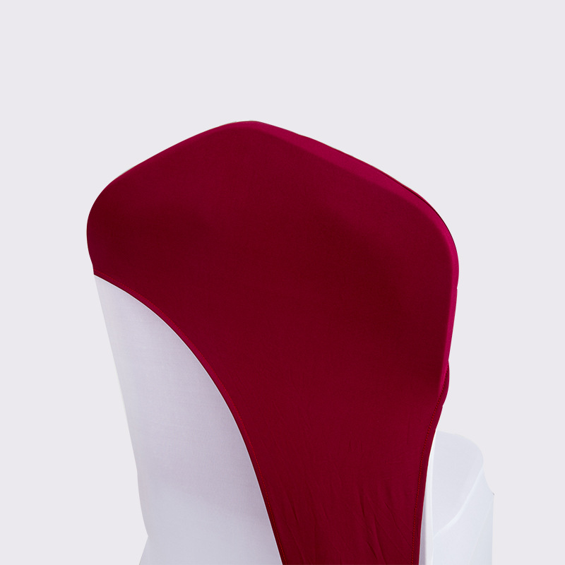 Свадебное украшение для банкета YRYIE, эластичные чехлы на стулья из полиэстера и спандекса, колпачки