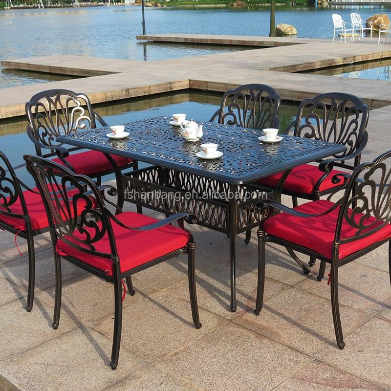 Metal Commercial Garden Patio Outdoor Furniture
