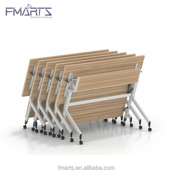 Meeting Room Furniture Office Desk Training Table Custom Folding Table for Learning Center