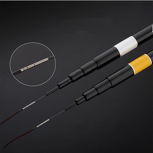 China manufacture whole fishing tackle 2.7m-7.2m carp fishing rod pole varas de pesca de fibra carbono