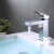 Aquacubic Deck Mounted Single Hole Lead Free Brass Bathroom Basin Faucet