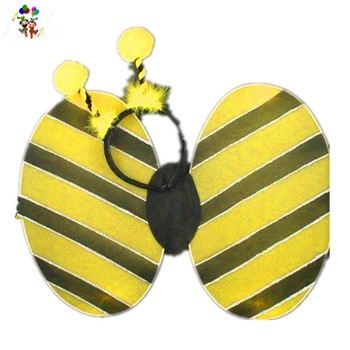 Deeley Bopper Bumble Bee Cheap Girls Fairy Wings with Headband HPC-0835