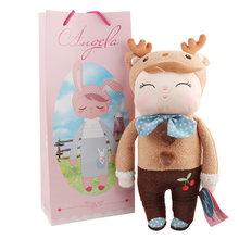 Плюшевые игрушки с рисунками животных, 13 дюймов, детские игрушки для девочек, подарок на день рождения, Рождество, Kawaii, Angela, Rabbit, Metoo(Китай)