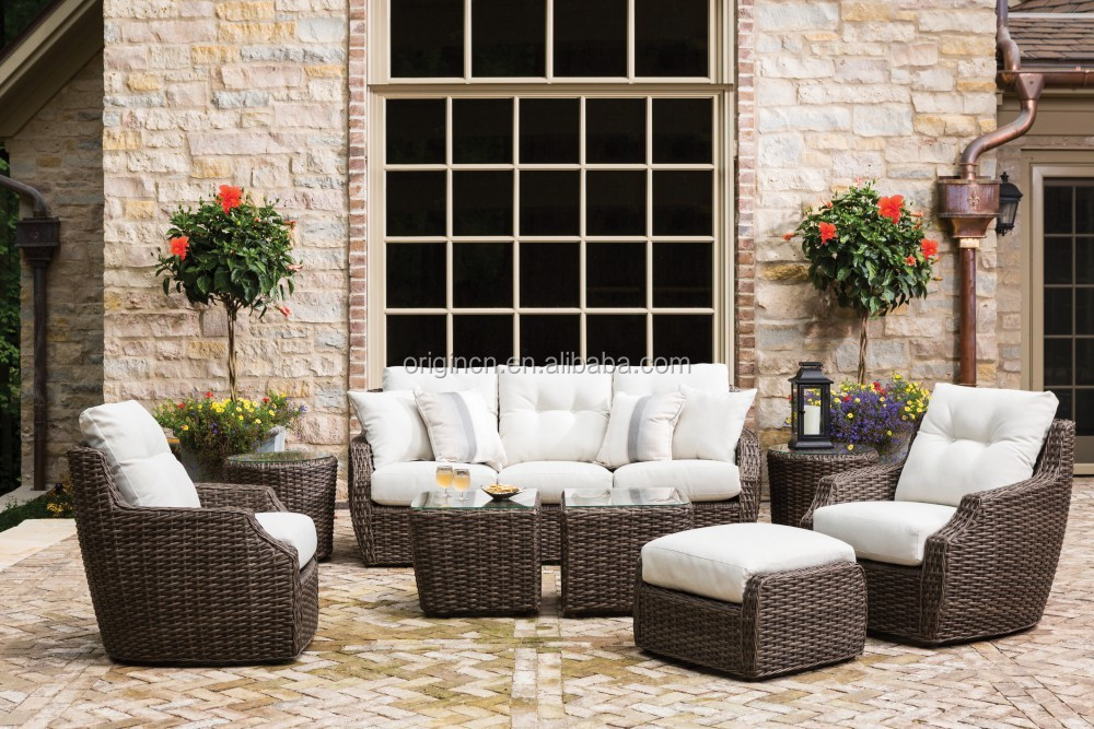 Simple Durable Designed Outdoor Divan Furniture With
