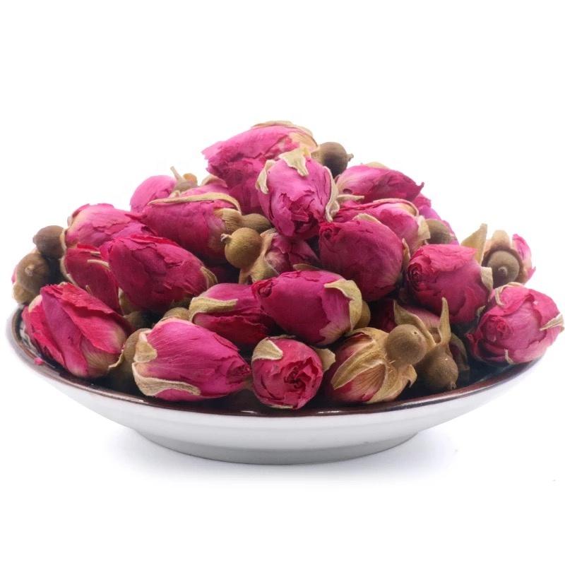 Direct Drinking Dry Rose Bud Tea Top Grade Edible Dried Rose Buds Tea - 4uTea | 4uTea.com