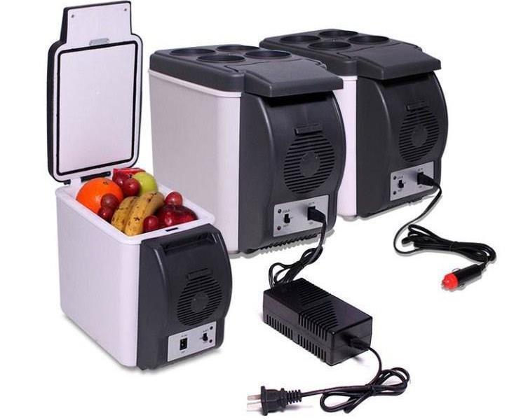 Free Shipping Dc12v Mini Fridge 6l Car Refrigerator Mini