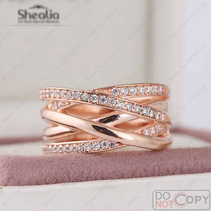 3a9a1e6cf best pandora entwined ring gold f9cd4 9d21b; denmark pandora entwined ring  rose 9068f 1c59b