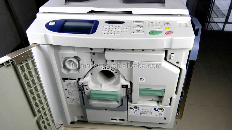 used risos rz 370 digital duplicator risos printing machine supplier in china