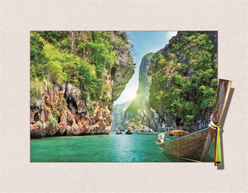 3d picture beautiful scenery with Best seller wall art 3D picture city landscape