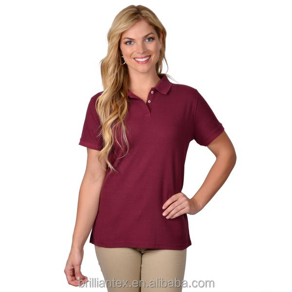 Womens sexy polo shirts