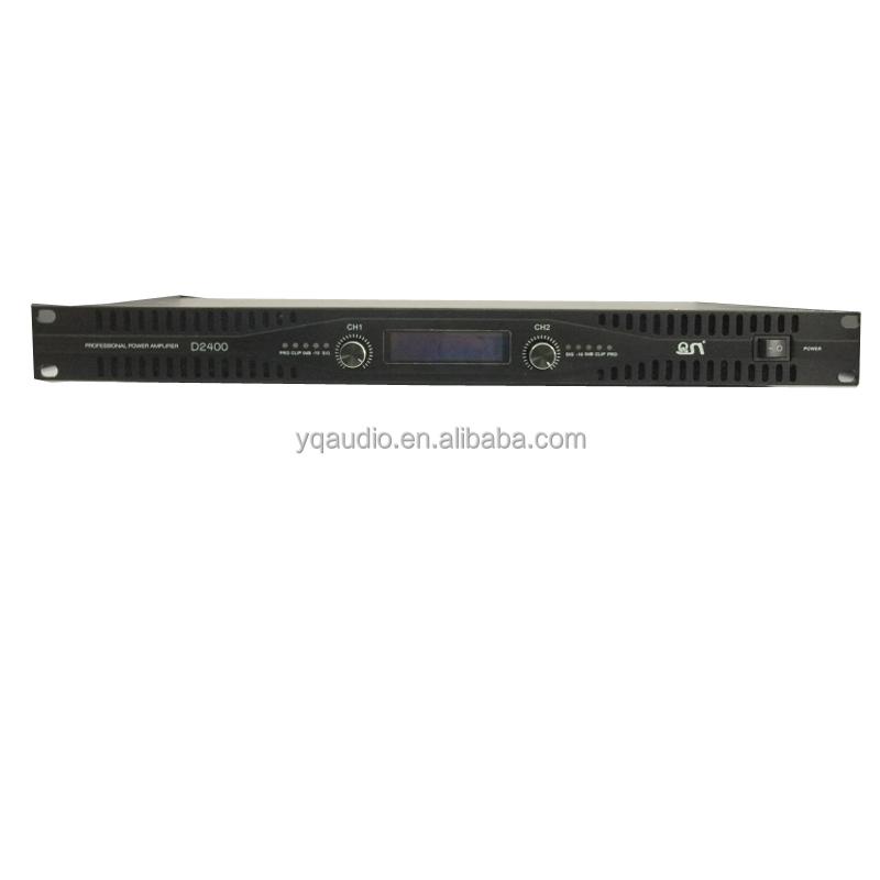 Профессиональный 1u усилитель мощности аудио усилитель мощности (D2800) <span style=