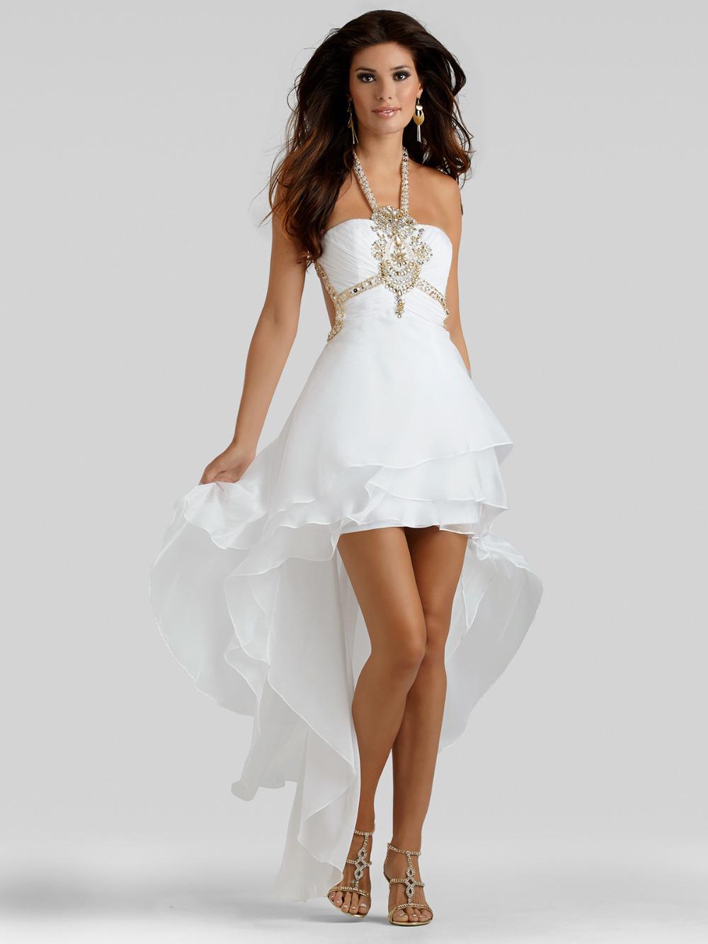 Women's Long Sexy Halter Evening Wedding Bridesmaid Prom ...  |Halter Cocktail Dresses