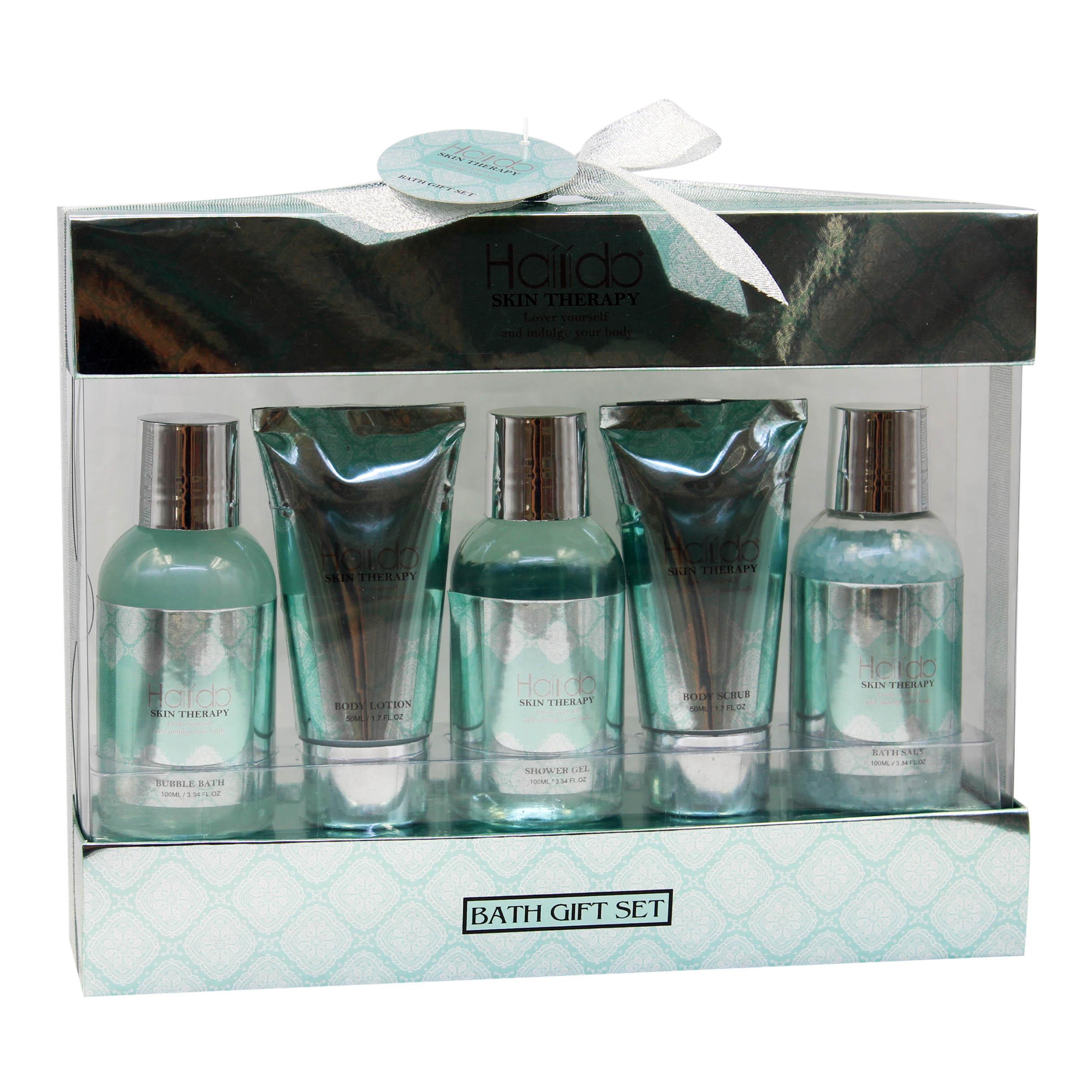 Оптовая продажа, лучшее качество, товары для уборки мужского тела на День отца, подарочный набор для ванны
