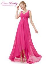 Вечерние платья больших размеров Ever Pretty, длинное праздничное двойное платье с V-образным вырезом, со стразами, разных цветов, EP09983, лето 2019(Китай)