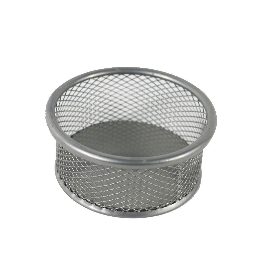 Бесплатный образец питания офисного рабочего Custom Cup Pattern дизайн металлическая сетка Щепка клип держатель для стола