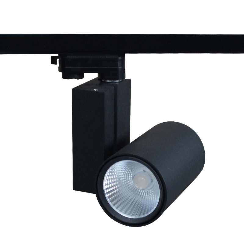 Competitive price new product 15-60 degrees commercial art gallery lighting high CRI led track light