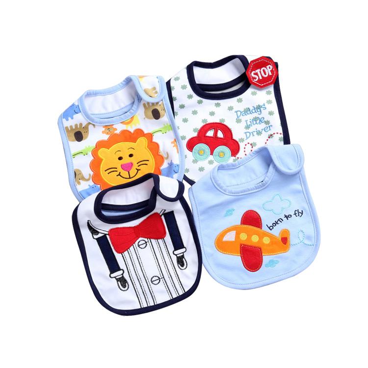 Hot Selling Waterproof baby bandana drool bibs Kids Cotton Baby Bib