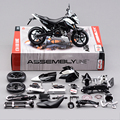 KTM 690 DUKE 3 Motorcycle Model Building Kits 1 12 Assembly Toy Kids Gift Mini Moto