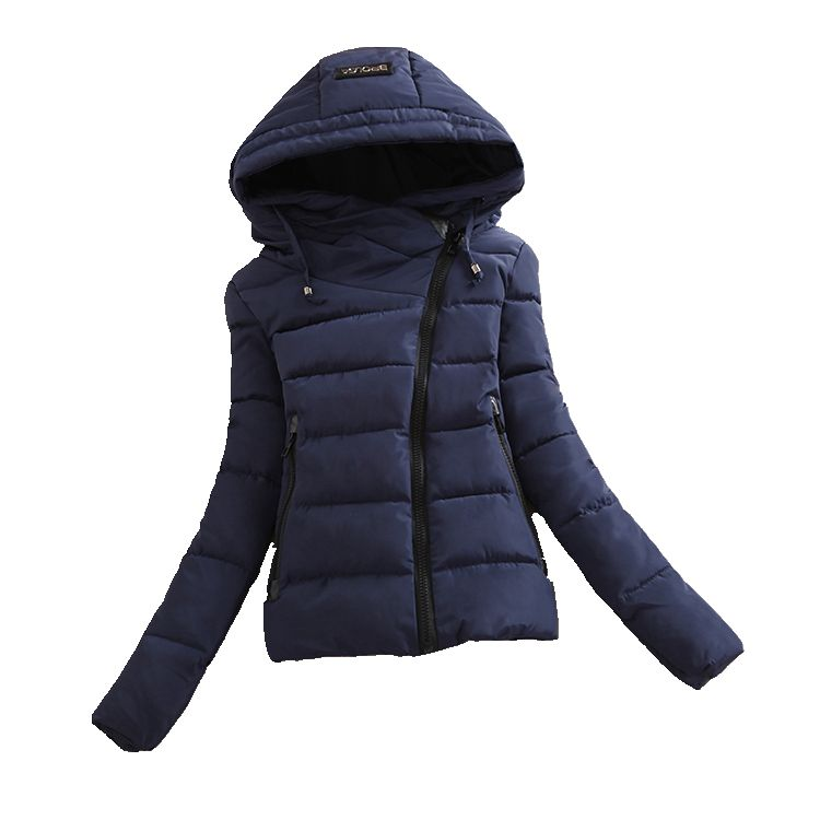 2016 New font b Winter b font Fashion Cotton Jacket Women Korean Short Down Padded Jacket