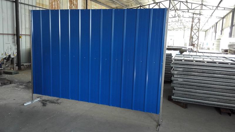 Galvanized Corrugated Sheet Hoarding Construction Hoarding