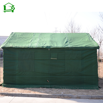 Winter outdoor american 20 manlarge army heavy duty canvas fabric camping military wall tent sale