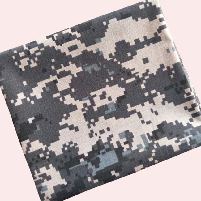hot sale polyester cotton print camouflage fabric