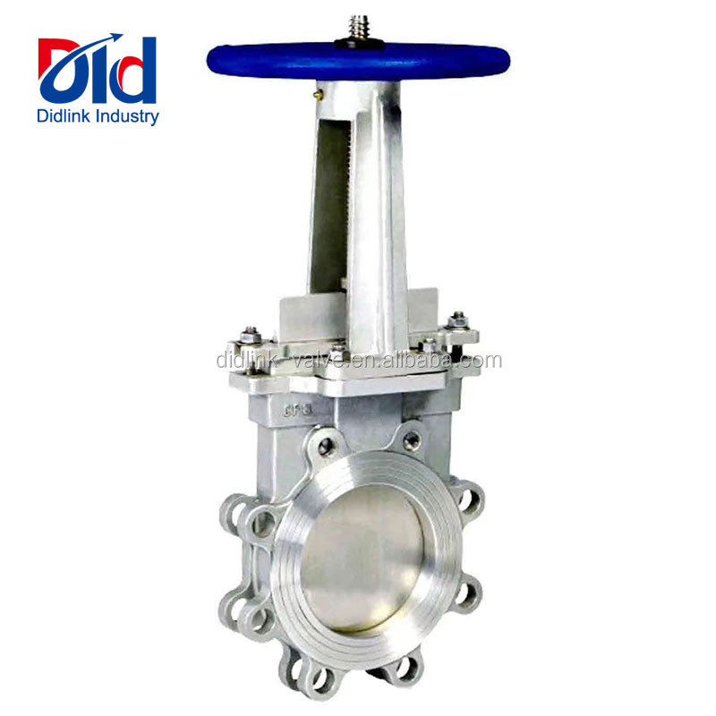 Stainless Steel Rising Stem Hydraulic Pneumatic Drawing Slurry Knife Gate Valve Price List