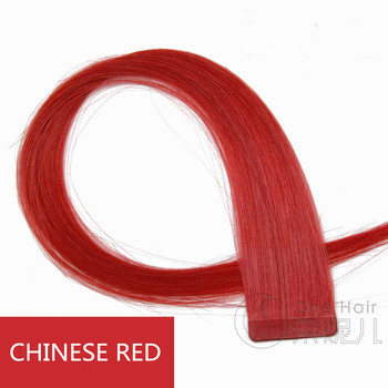 Hot Sale! Red Non-trace hair piece The whole hair wholesale Stealth double-sided adhesive