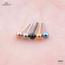 Starbeauty 2 шт./лот, 18 г 7 мм, милый носоупорный пирсинг, Лабрет, Helix, серьги для губ, пирсинг для пупка, кольцо для плоского носа, хрящи, украшения дл...(China)