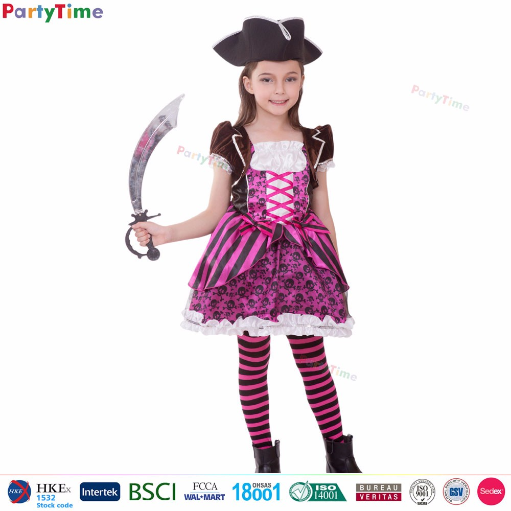 2017 top quality chinese party costume kids pink captain pirate girl halloween costume cheap sexy pirate  sc 1 st  Alibaba & 2017 Top Quality Chinese Party Costume Kids Pink Captain Pirate Girl ...
