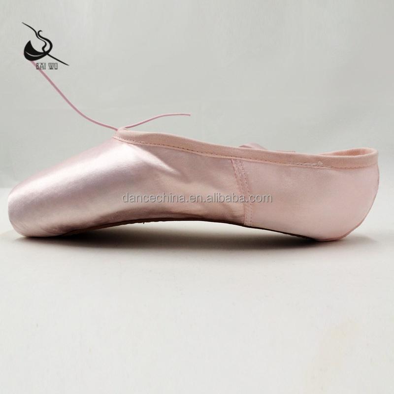Оптовая продажа 116131009, профессиональные женские пуанты baiwu для балета, обувь для продажи