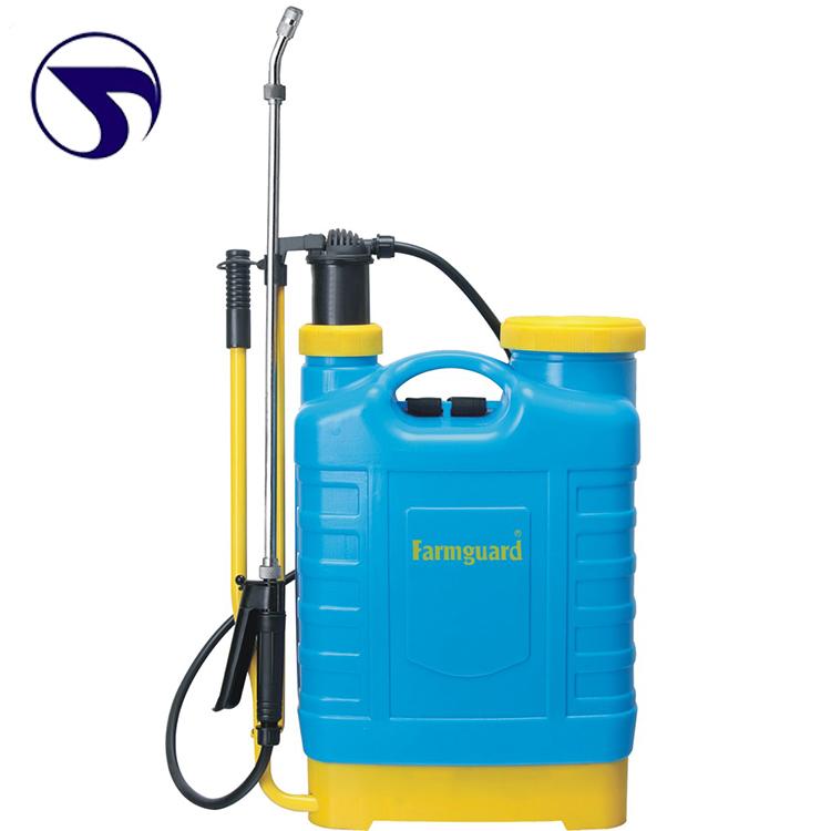 Factory wholesale 20L manual agricultural backpack sprayer pressure pump