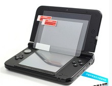 Ultra Thin Tempered Glass Screen Protector Film for Nintendo New 3DSXL Screen Protector for new 3dsll 3DS XL LL,  strap as bonus