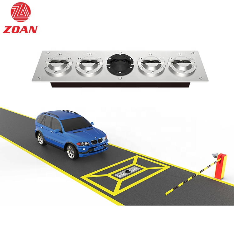 Wholesale Security Equipment Fixed Under Car Inspection System With CCTV Camera ZA-UVSS-II