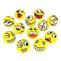 12pcs lot Fun Emoji Face Squeeze Balls Modern Stress Ball Relax Emotional Hand Wrist Exercise Stress