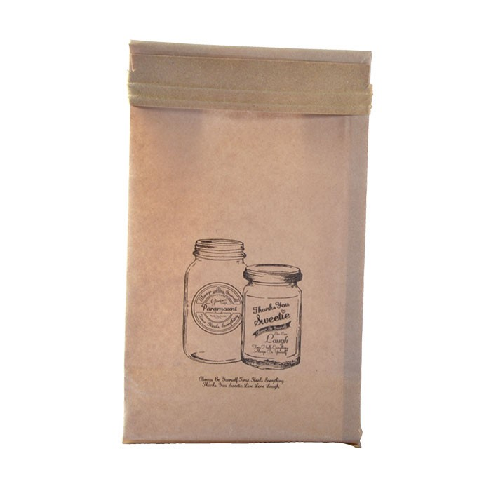 Side Gusset Kraft Paper Bag For Coffee Custom Coffee Tea