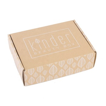 Packaging custom design kraft paper corrugated box