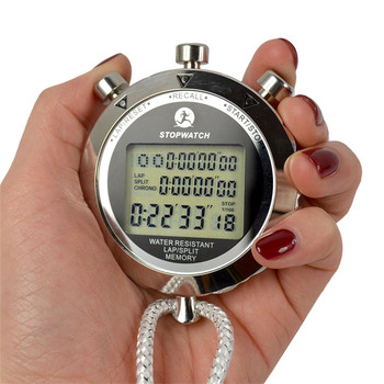 High quality top quality PS-538 metal digital electronic sports stopwatch fashion professional running stop watch wholesale