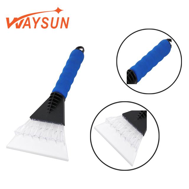 High Quality Non-slip Durable Eva Vehicles Plastic Breaker Adjustable Handle For Squeegee Brush Window Ice Scraper Glove