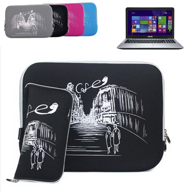 For Asus ZenBook NX500/ Pro UX501/ ASUS F555LA 15.6'' Laptop Bag Notebook Sleeve Slim Neoprene Protective Skin Case Bag Cover