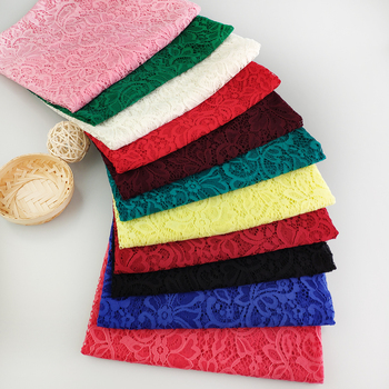 Colors stocking embroidery tulle fabric lace fabric african