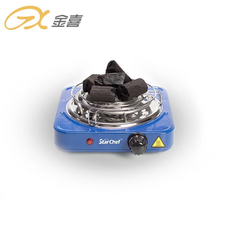 JX-6121B Заводская дешевая цена 1000 Вт электрическая горелка для кальяна