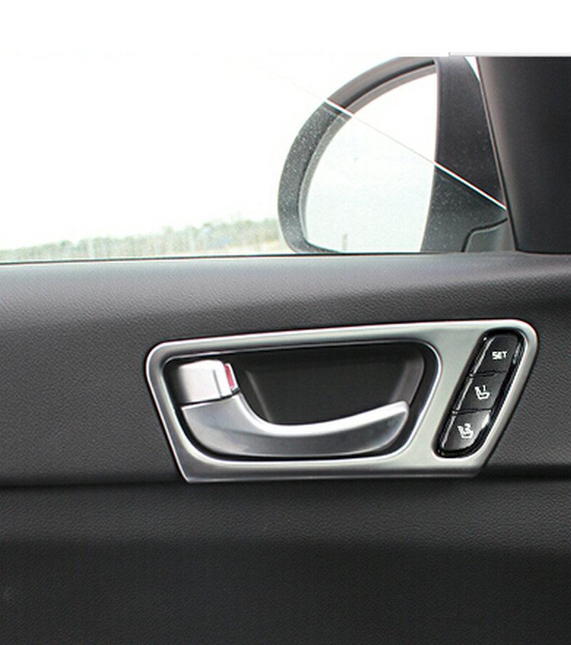 2016 Kia Optima Interior: 4pcs Car Interior Door Handle Bowl Cover For 2016 2017 LHD
