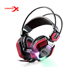 Brand Xiberia V6 High Level Games Headset Musci Breathing Light Headphone With Microphone Bass For LOL For Mobile Phone Computer