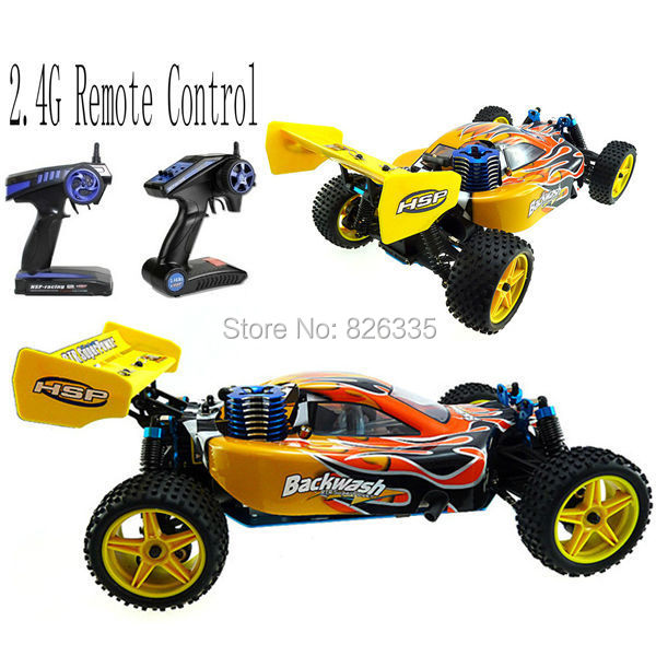 Hsp Rc Car 1 10 Scale Nitro Gas Power 4wd Off Road Truck: HSP High Speed 2CH 1/10 Scale Models Nitro Gas Power 4wd