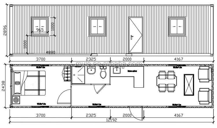 40ft shipping container homes modified buy shipping - 40ft shipping container home ...