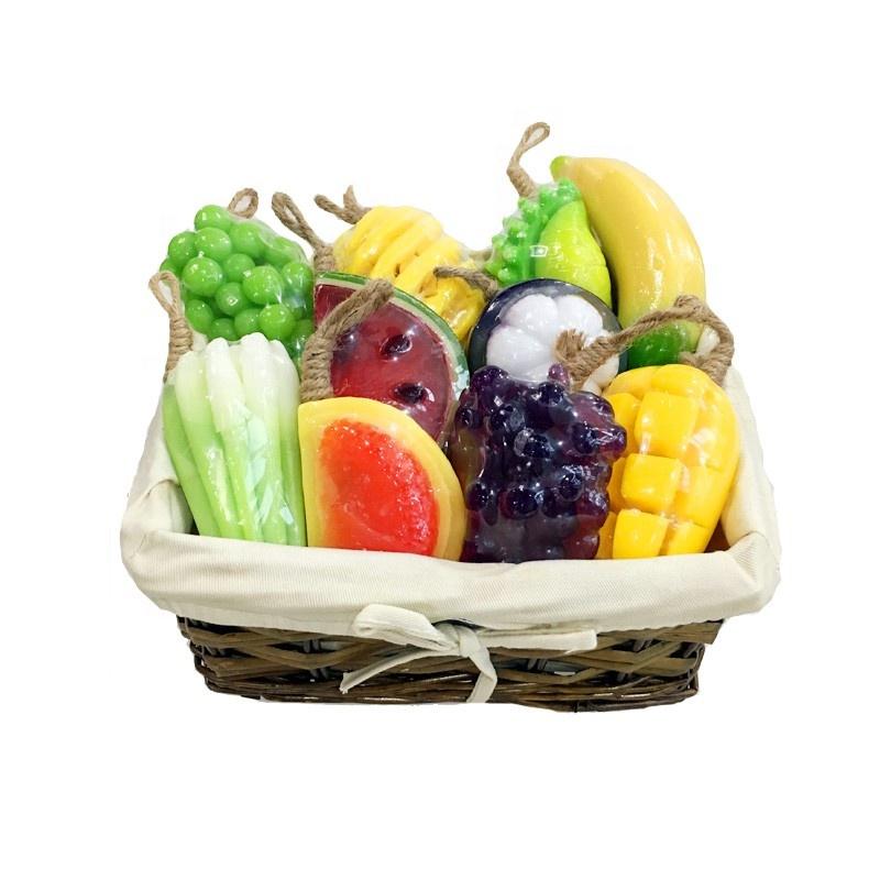 Оптовая продажа, индивидуальная торговая марка, Oem новый продукт, мыло для мытья фруктов ручной работы