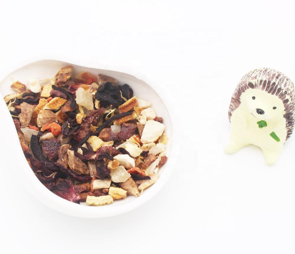 Dried fruit tea, dried apple flavour tea, sweet grapefruit - 4uTea | 4uTea.com